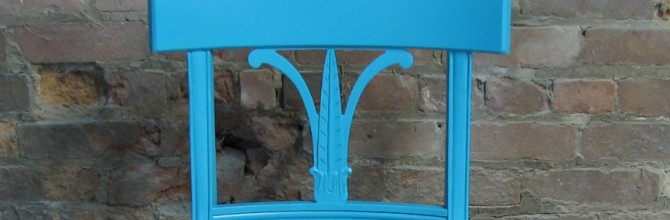 For the Love of Teal! Chair