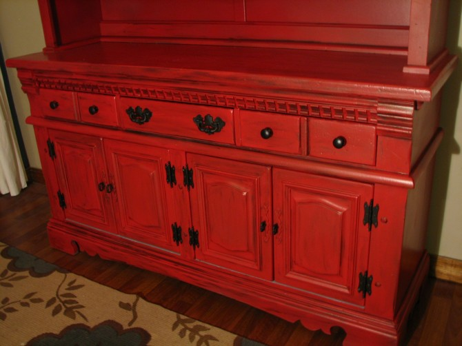 How to Repaint a Hutch