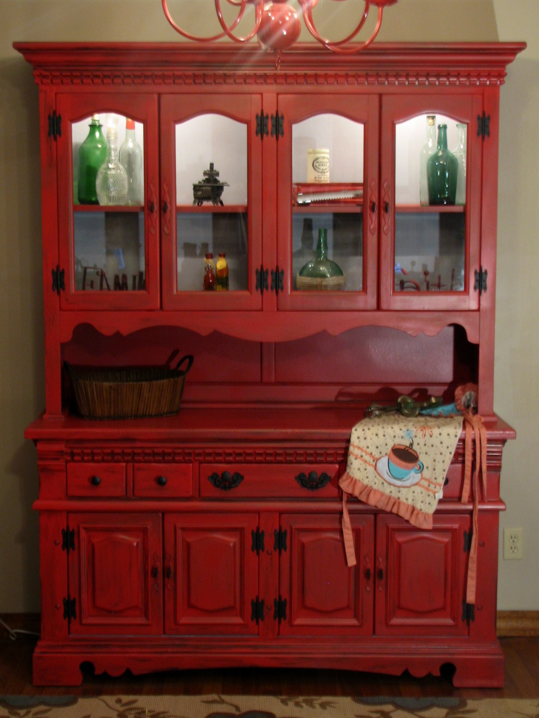How To Repaint A Hutch FunCycled
