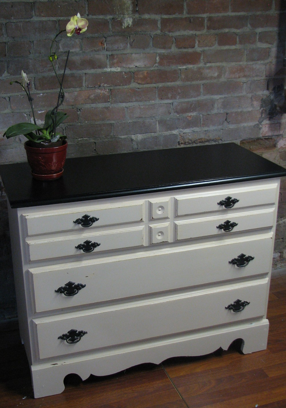 How To Paint Your Dresser With A Pottery Barn Ish Style Funcycled