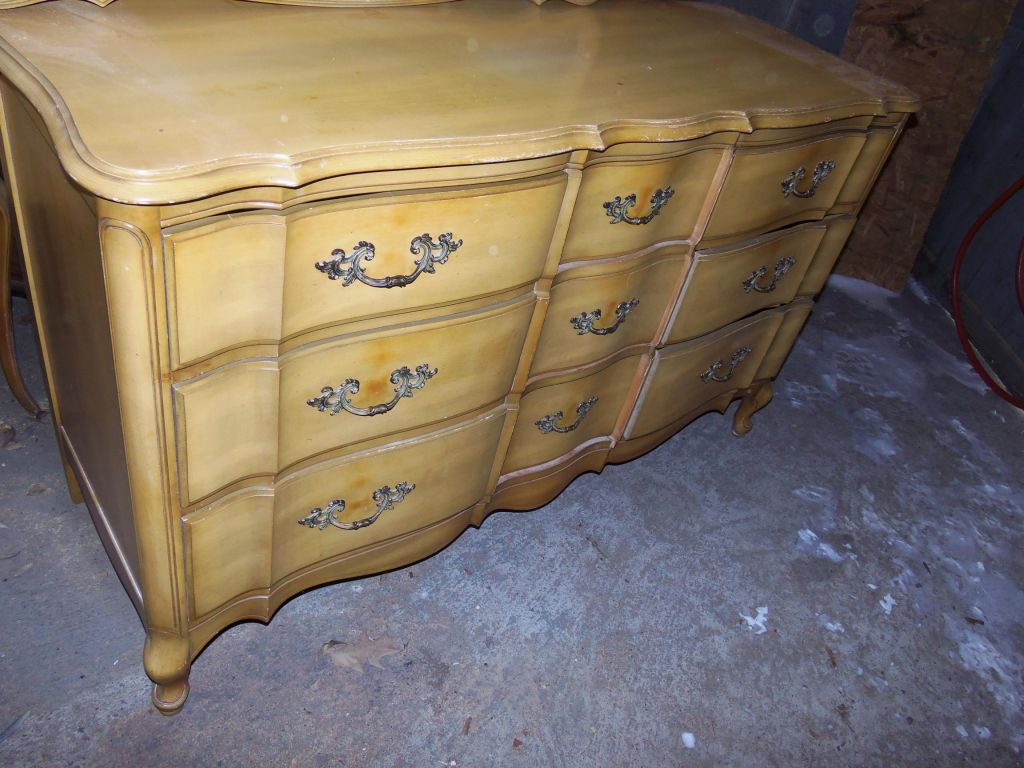 how to gold dip furniture tuesday s treasures funcycled