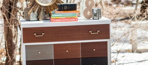 West Elm Inspired Mid Century Dresser – Tuesday's Treasures