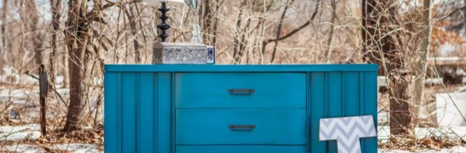 Turquoise Modern Buffet For Sale – Tuesday's Treasures