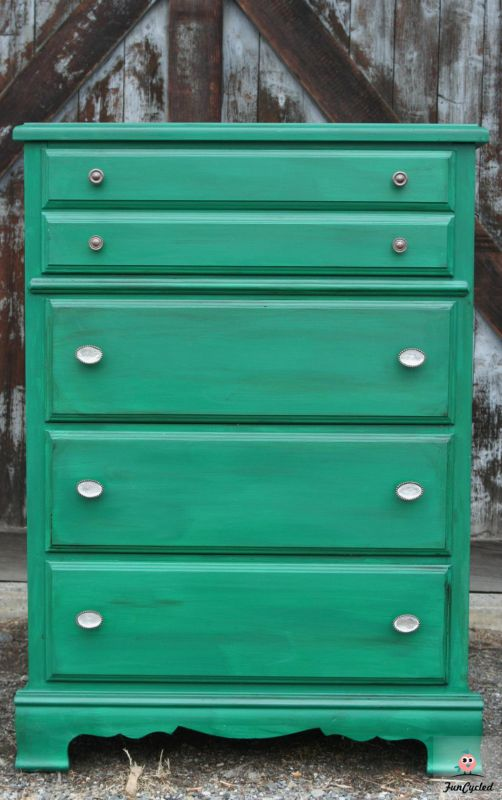 Kelly Green Dresser For Sale Funcycled