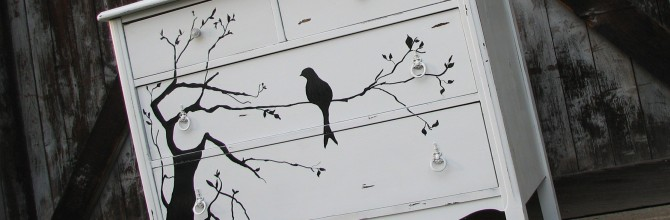 Bird in a Tree Dresser