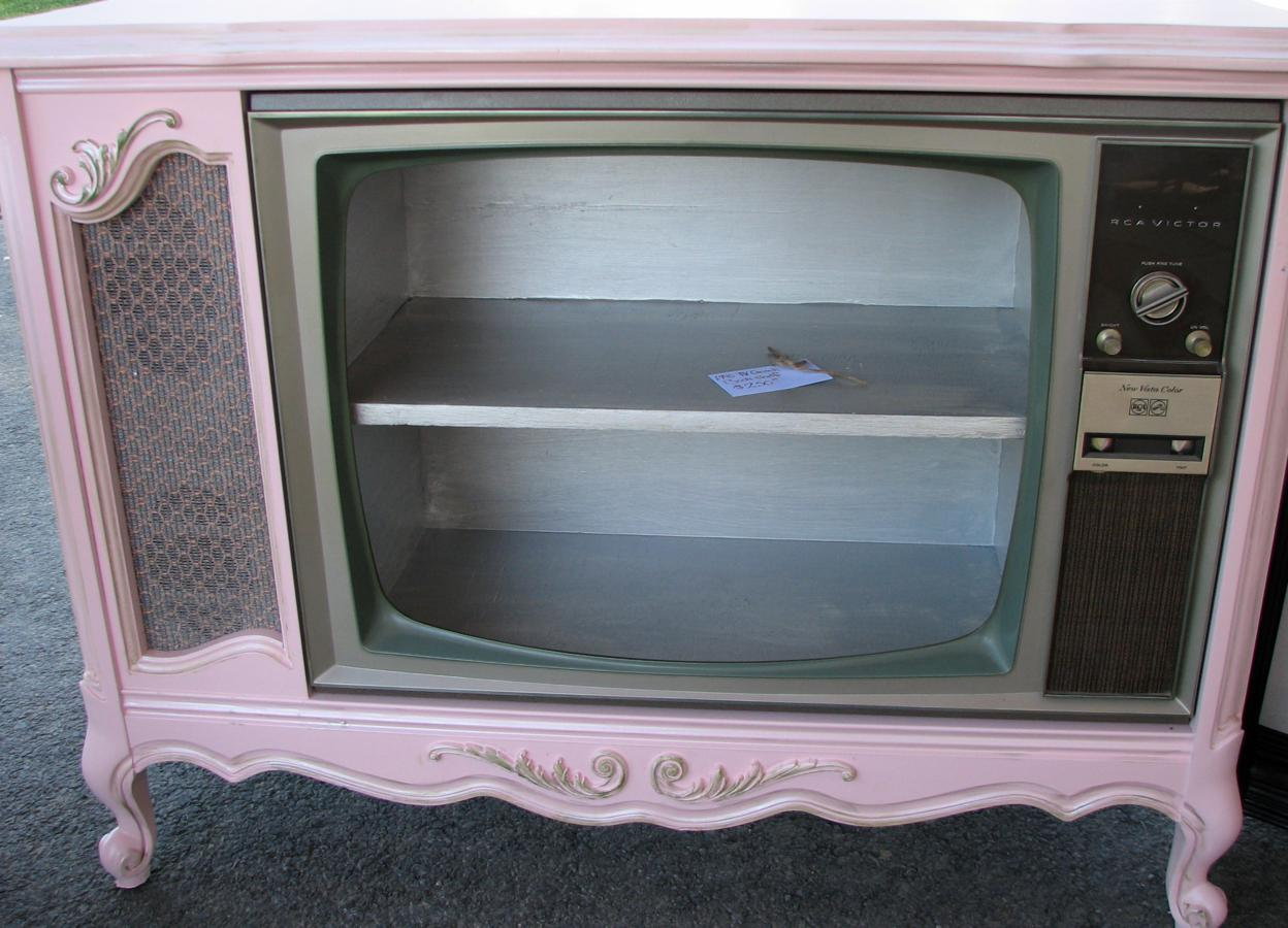 1970's Console TV Makeover – FunCycled