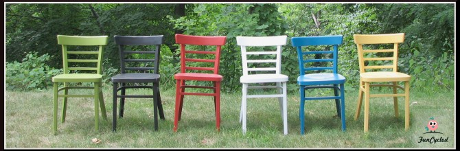 Oh Colorful Chairs How I LOVE YOU!