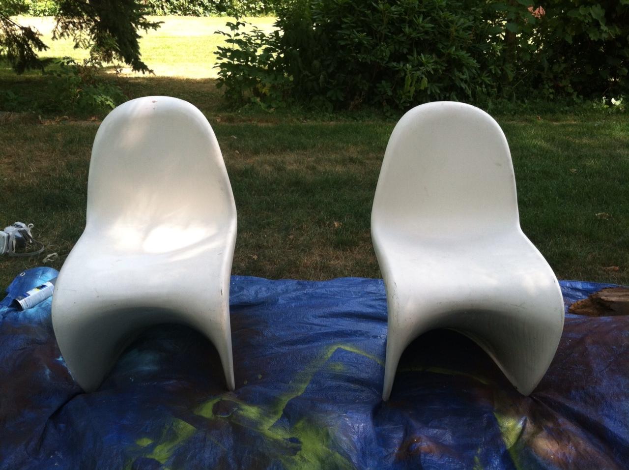 black panton chairs funcycled