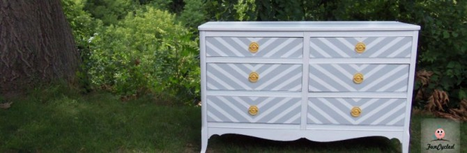 Oh Baby! Chevron Dresser – Tuesday's Treasures