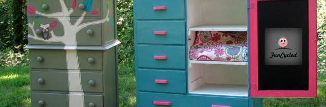 Tuesday's Treasures – Girl's Dressers Makeover