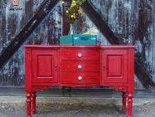 Primitive Red Buffet