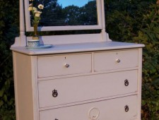 Pretty in Prelude! Antique Dresser with Mirror Tuesday's Treasures