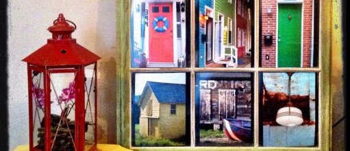 Antique Windows with Photos by Sandy Pratt