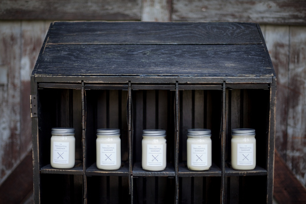100% Soy Wax Candles by The Thoughtful Gardner