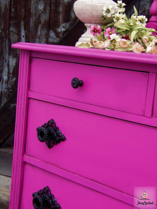 Electric Fuchsia Dresser