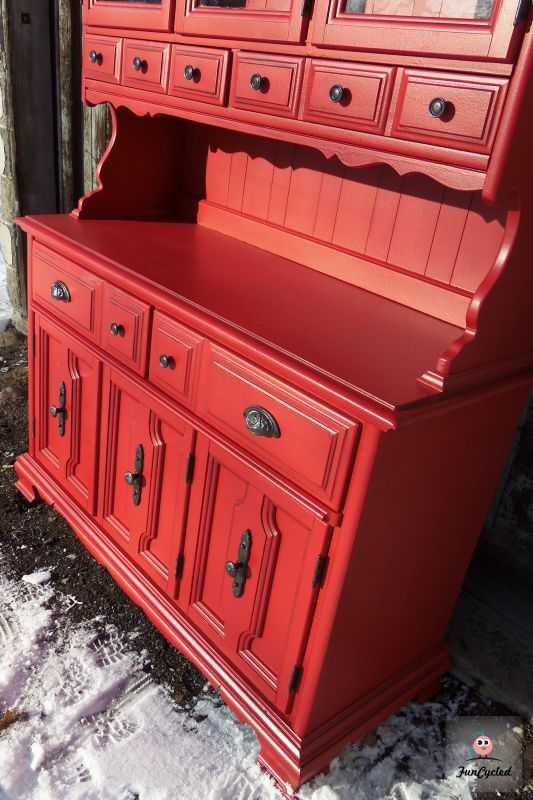 Valentine's Day Red Hutch – Tuesday's Treasures