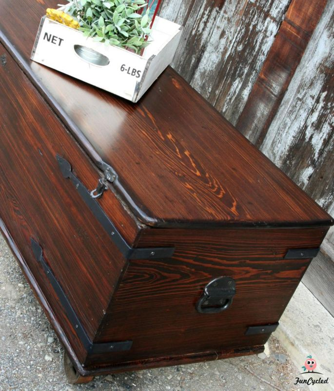 Coffin Turned Coffee Table FunCycled - Coffin coffee table