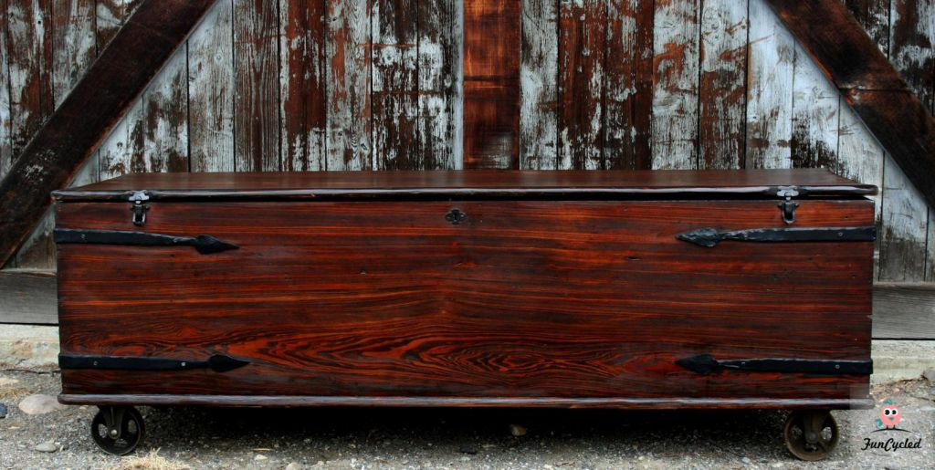 Coffin Turned Coffee Table FunCycled