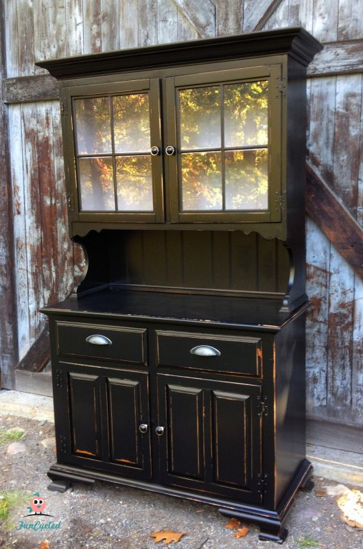 Marcies Black Hutch Tuesdays Treasures FunCycled