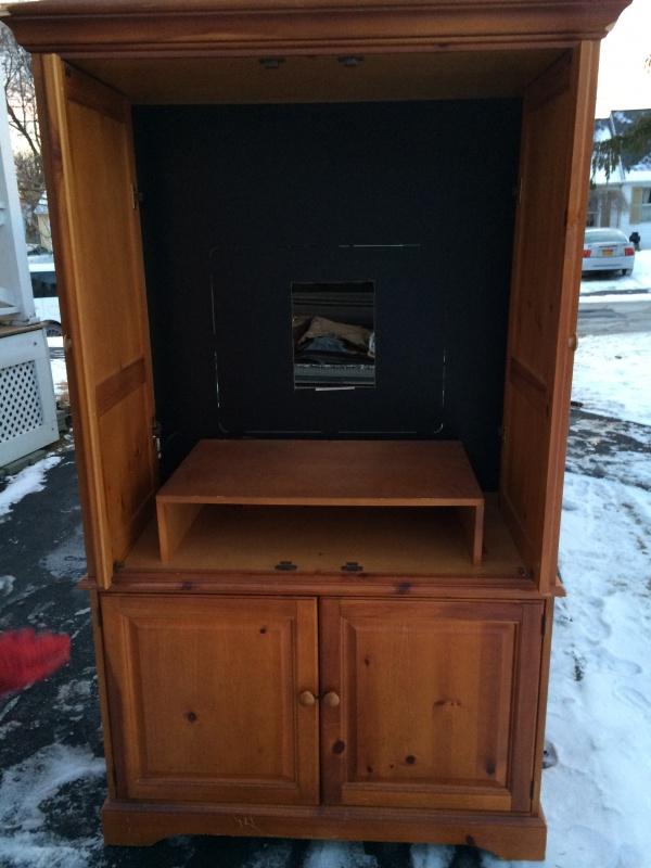 Clunky TV Armoire Turned Custom Closet – Tuesday's Treasures ...