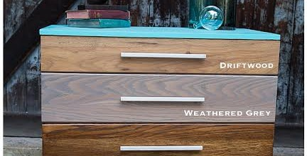 Stained Ombre Dresser Set – Tuesday's Treasures