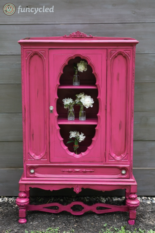 Magenta China Cabinet Tuesday S Treasures Funcycled
