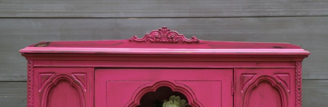 Magenta China Cabinet – Tuesday's Treasures