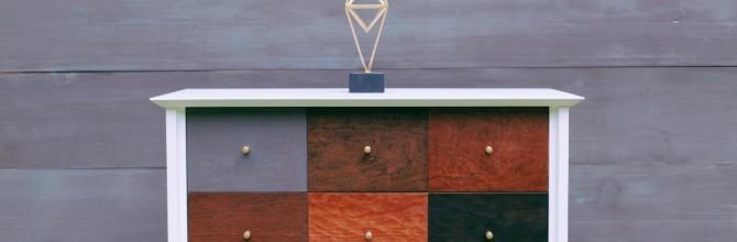 Mid Century Patchwork Dresser – Tuesday's Treasures