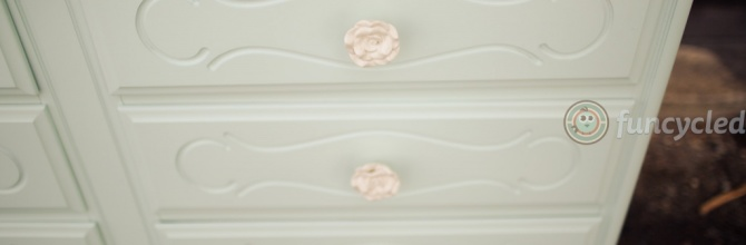 Happy St. Patrick's Day Mint Green Dresser – Tuesday's Treasures