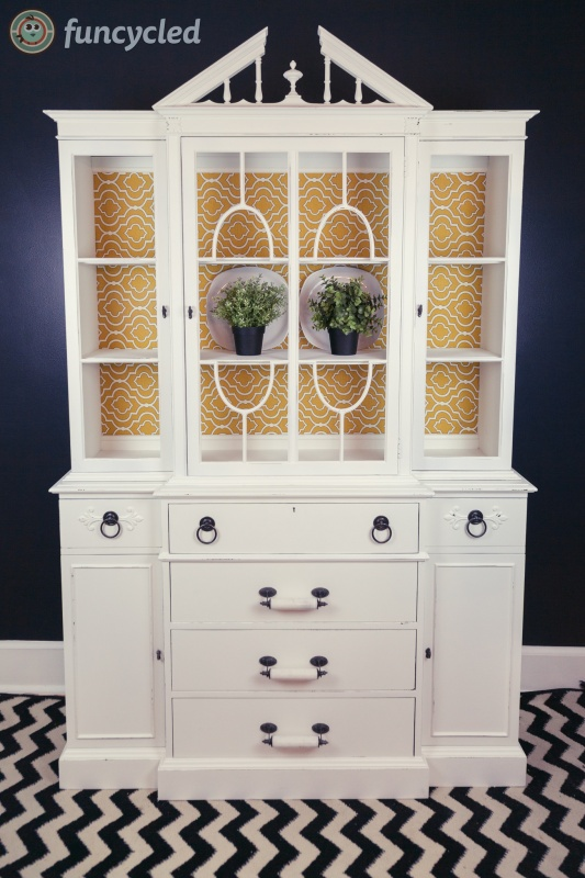 Antique Breakfront Hutch