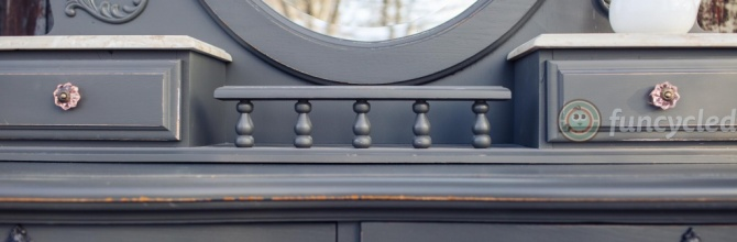 Grey Mirrored Dresser For Sale – Tuesday's Treasures