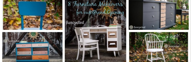 8 Furniture Makeovers for Grand Opening Day – Tuesday's Treasures