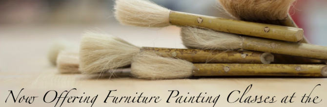 FunCycled Furniture Painting Classes in the Capital District
