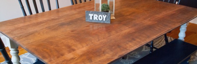 How to Update a Drop Leaf Table – Tuesday's Treasures