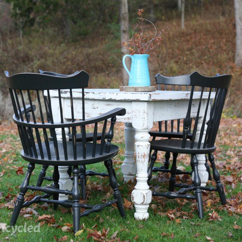 White Maple 4 Person Table