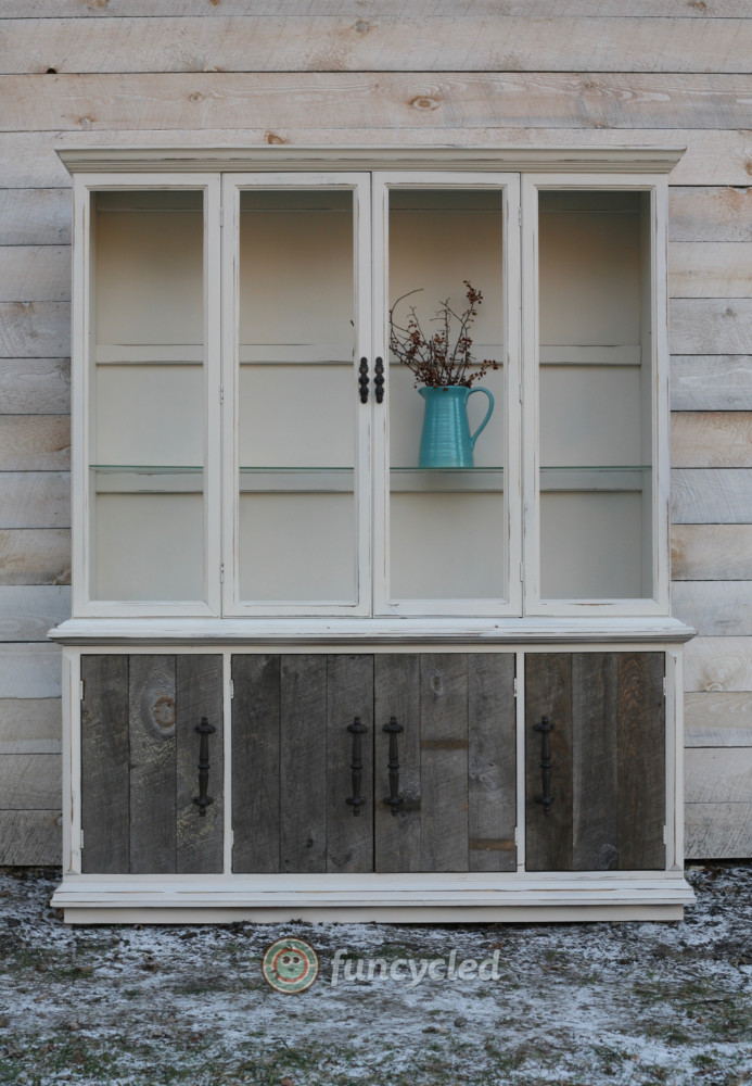 Rustic Chic Hutch