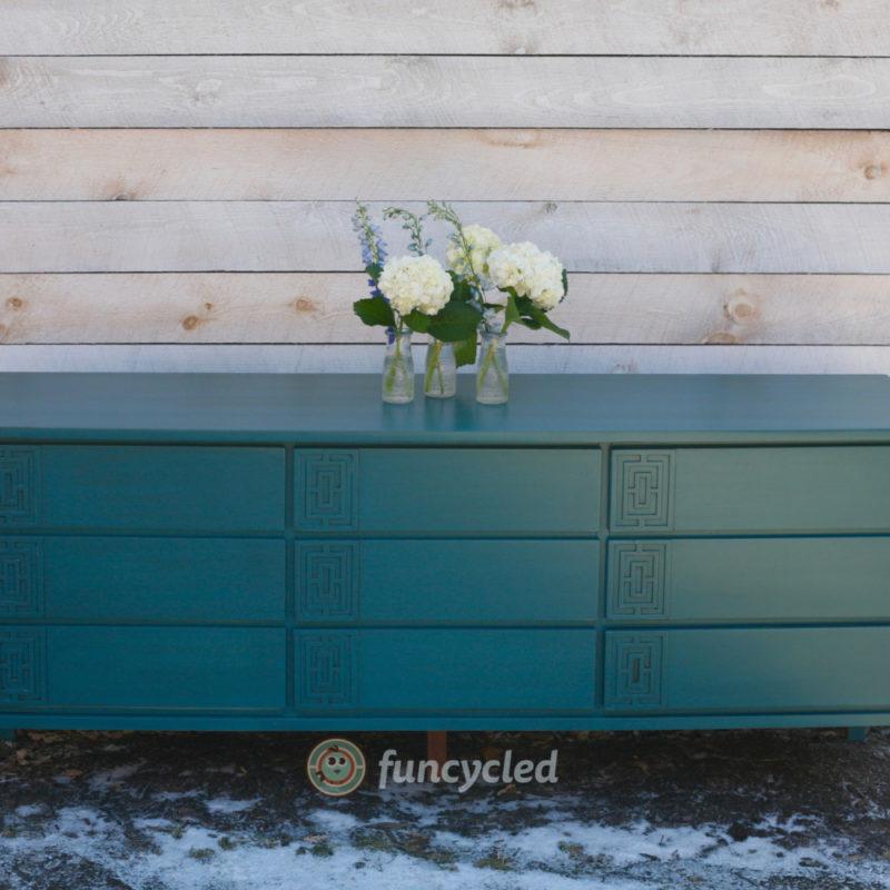 Turquoise Credenza