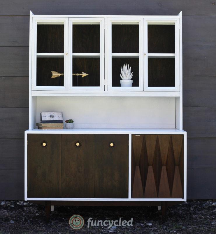 Mid Century Modern Hutch