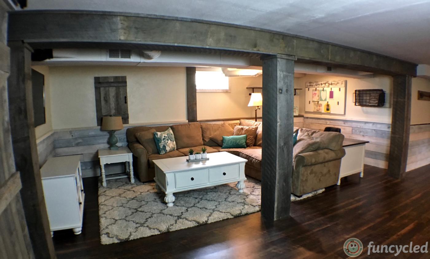 basement renovation project funcycled. Black Bedroom Furniture Sets. Home Design Ideas