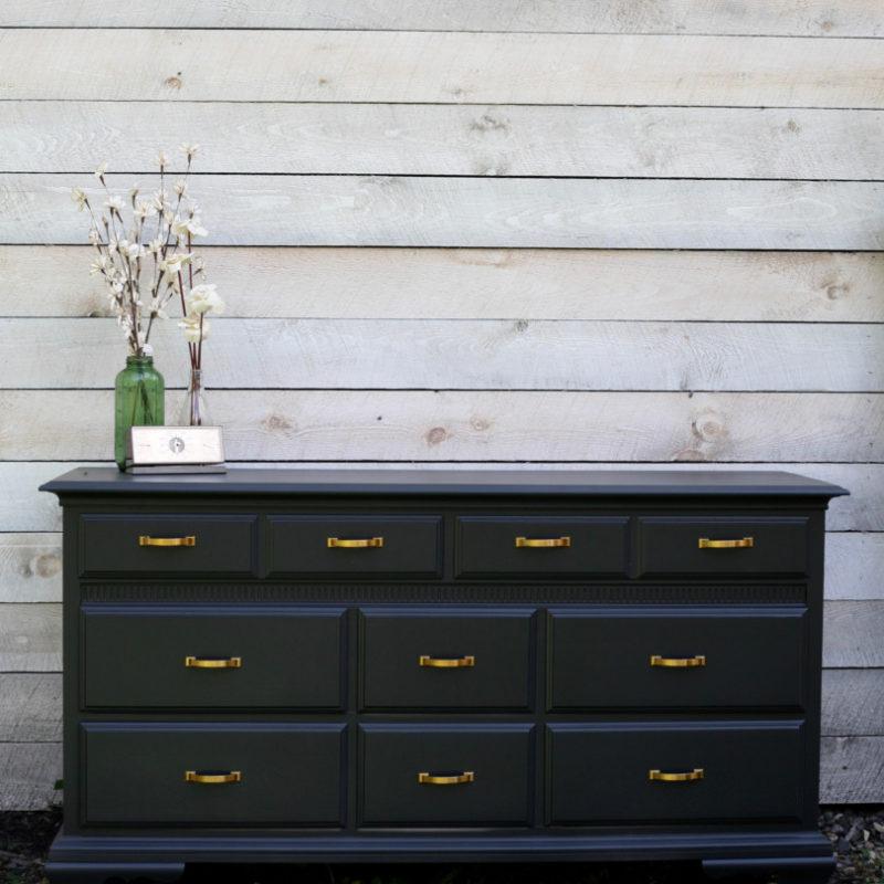 Black Maple Dresser