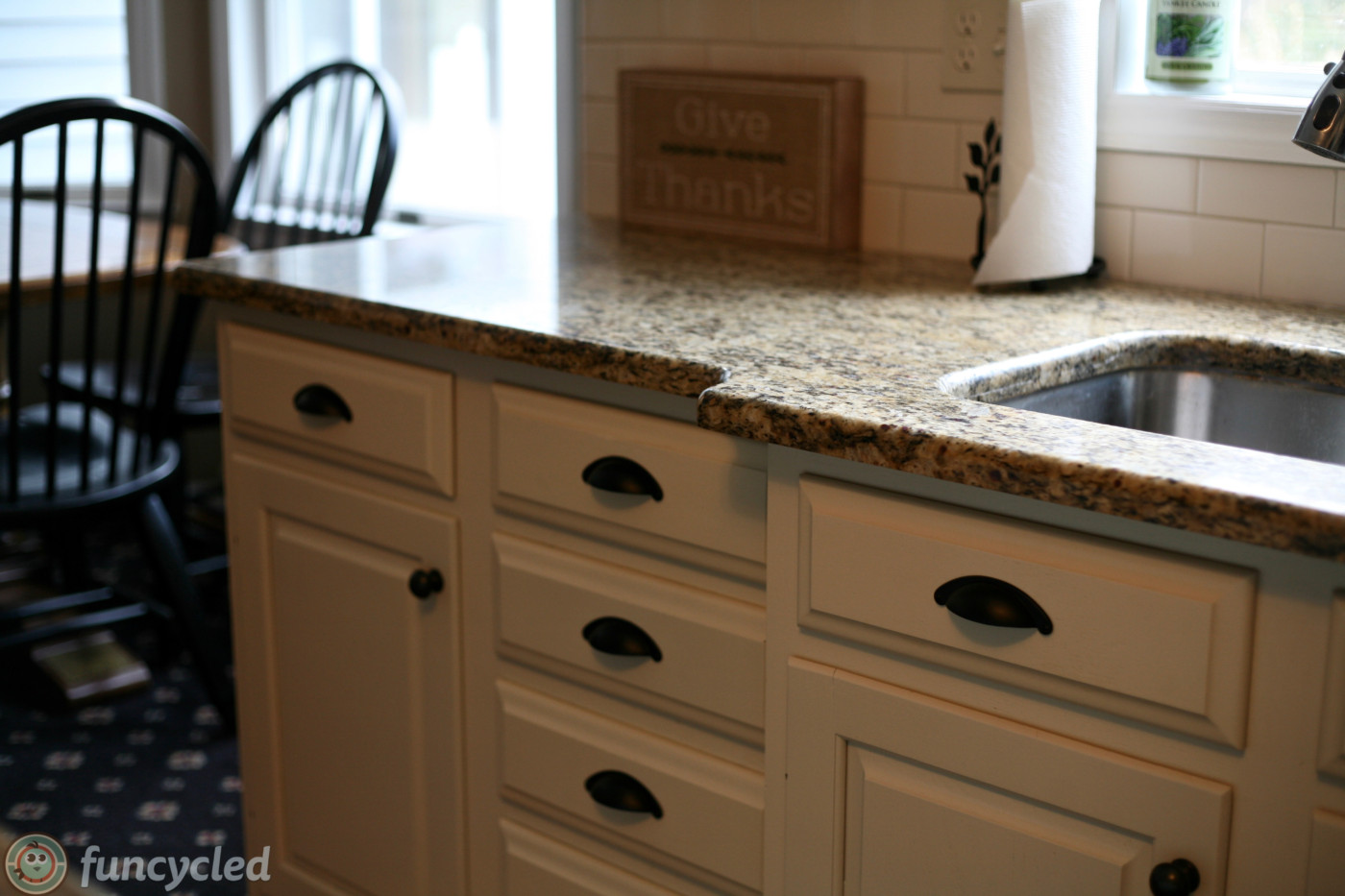 Tricks To Transform Oak Kitchen Cabinets Funcycled