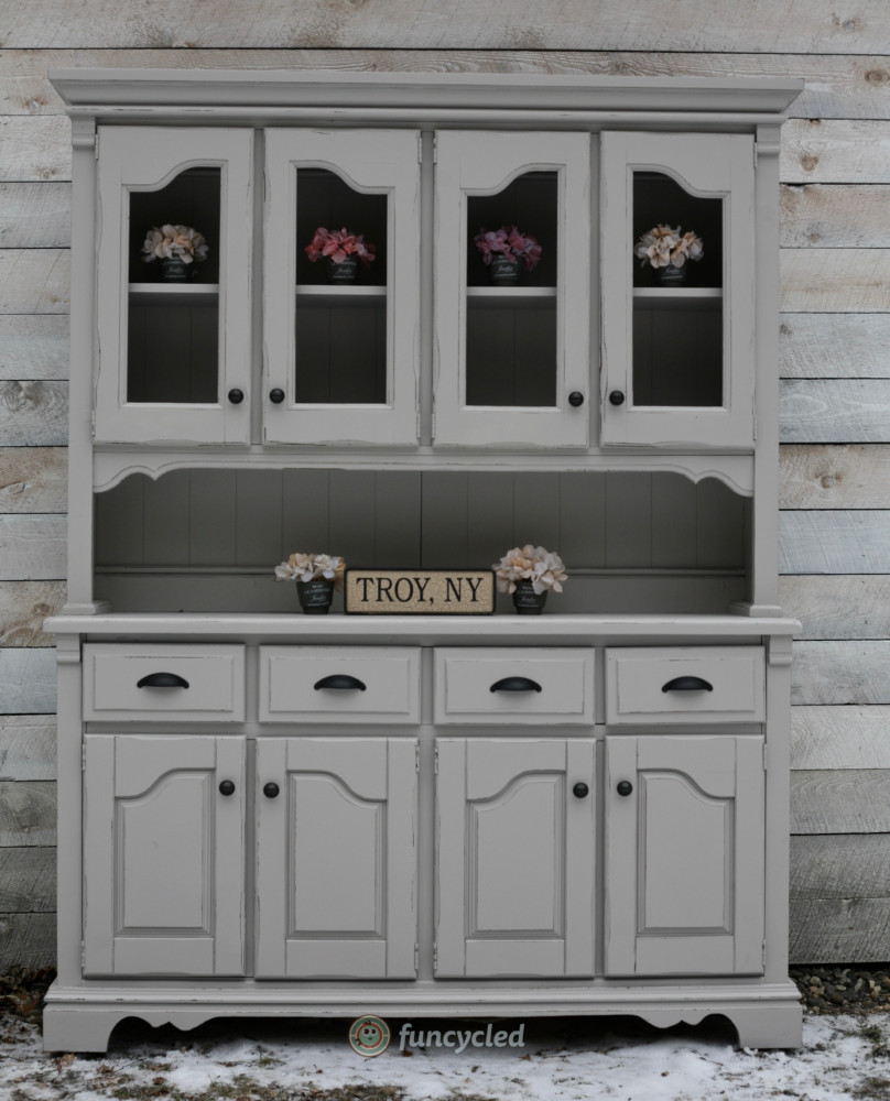New Gray Hutch For Sale