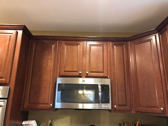 Kitchen Cabinets Painted Pale Oak And Gentleman S Gray Funcycled