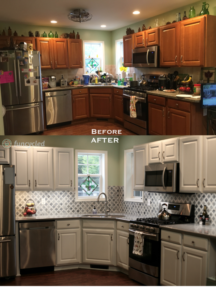 Kitchen Makeover Funcycled