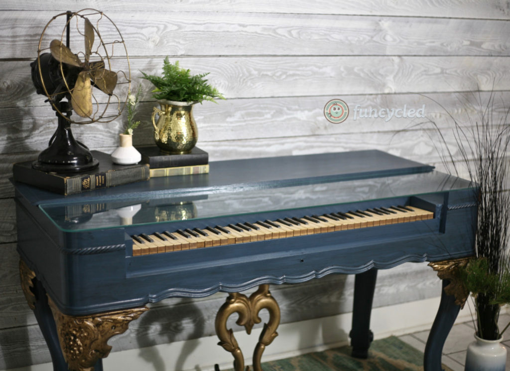 Repurposed Reed Organ Desk - Antique Piano Desk For Sale – FunCycled