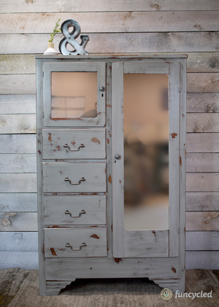 White Long Dresser for Sale – FunCycled