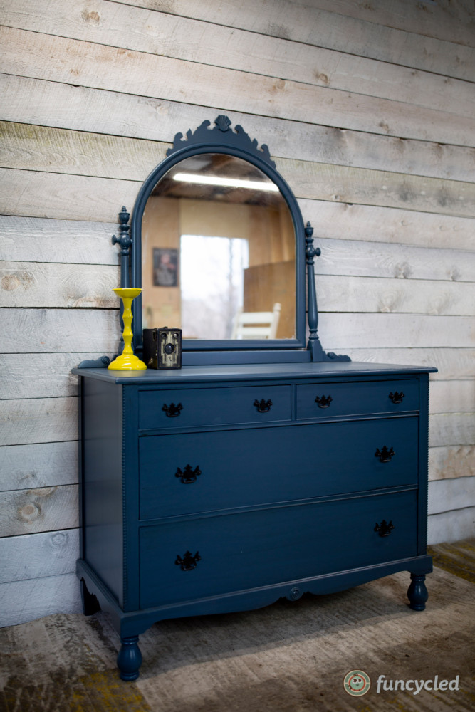How To Paint An Old Dresser Funcycled