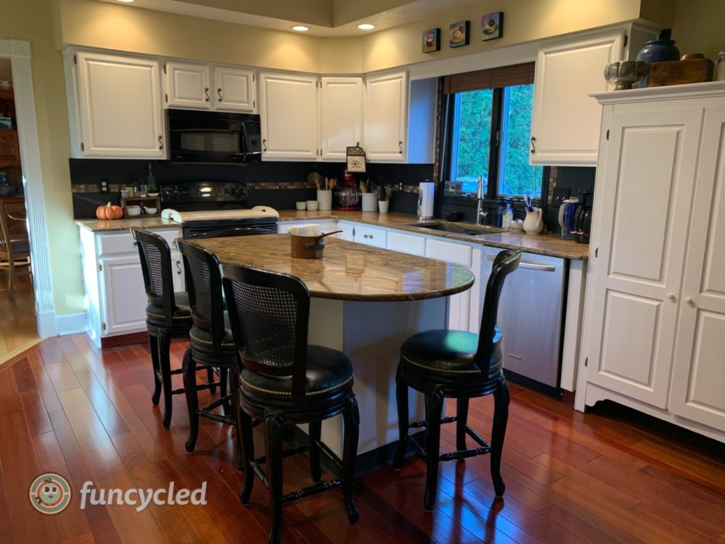 Repurposed Kitchen Cabinets Funcycled
