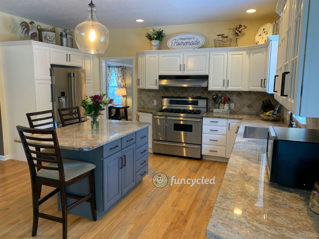 Simply White Kitchen Cabinets Funcycled